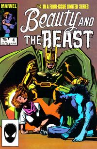 Cover Thumbnail for Beauty and the Beast (Marvel, 1984 series) #4 [Direct Edition]