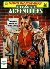 Cover for Bizarre Adventures (Marvel, 1981 series) #31