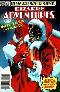 Cover Thumbnail for Bizarre Adventures (Marvel, 1981 series) #34