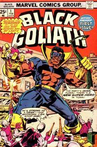 Cover Thumbnail for Black Goliath (Marvel, 1976 series) #1 [Regular Edition]