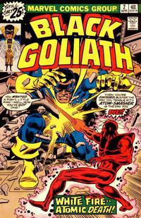 Cover Thumbnail for Black Goliath (Marvel, 1976 series) #2 [25¢ Regular Cover]
