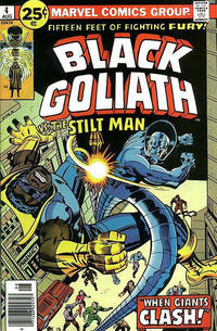 Cover Thumbnail for Black Goliath (Marvel, 1976 series) #4 [25¢ Regular Cover]