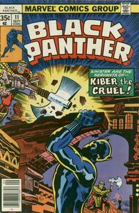 Cover Thumbnail for Black Panther (Marvel, 1977 series) #11 [Regular Edition]
