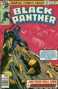 Cover Thumbnail for Black Panther (Marvel, 1977 series) #13 [Regular Edition]