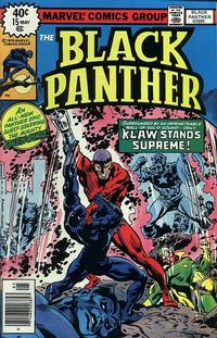 Cover Thumbnail for Black Panther (Marvel, 1977 series) #15 [Regular Cover]