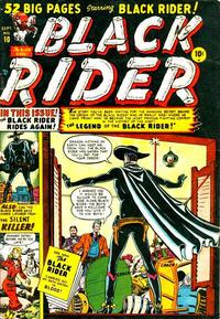 Cover Thumbnail for Black Rider (Marvel, 1950 series) #10