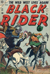Cover Thumbnail for Black Rider (Marvel, 1950 series) #21