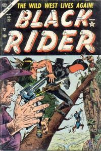 Cover Thumbnail for Black Rider (Marvel, 1950 series) #22