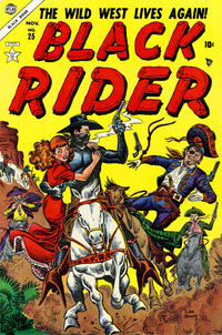 Cover Thumbnail for Black Rider (Marvel, 1950 series) #25