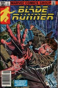 Cover Thumbnail for Blade Runner (Marvel, 1982 series) #2 [Newsstand Edition]
