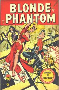 Cover Thumbnail for Blonde Phantom Comics (Marvel, 1946 series) #13