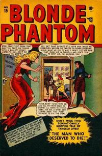 Cover Thumbnail for Blonde Phantom Comics (Marvel, 1946 series) #15