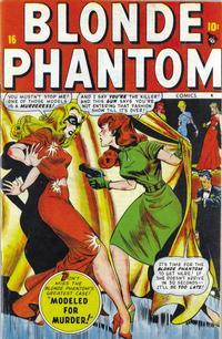 Cover Thumbnail for Blonde Phantom Comics (Marvel, 1946 series) #16