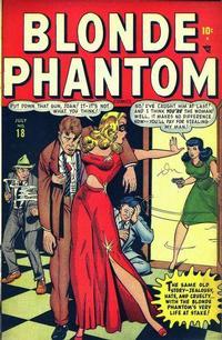 Cover Thumbnail for Blonde Phantom Comics (Marvel, 1946 series) #18