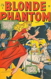 Cover Thumbnail for Blonde Phantom Comics (Marvel, 1946 series) #19