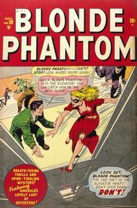 Cover Thumbnail for Blonde Phantom Comics (Marvel, 1946 series) #20