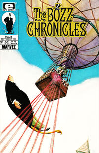 Cover Thumbnail for The Bozz Chronicles (Marvel, 1985 series) #5