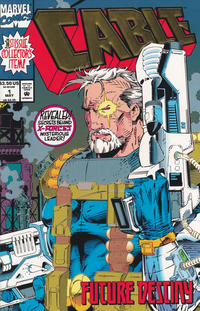 Cover Thumbnail for Cable (Marvel, 1993 series) #1 [Direct Edition]