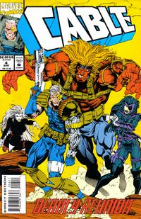 Cover Thumbnail for Cable (Marvel, 1993 series) #4 [Direct Edition]