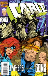 Cover Thumbnail for Cable (Marvel, 1993 series) #7 [Direct Edition]