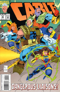 Cover Thumbnail for Cable (Marvel, 1993 series) #10 [Direct Edition]