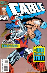 Cover Thumbnail for Cable (Marvel, 1993 series) #11 [Direct Edition]