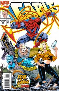 Cover Thumbnail for Cable (Marvel, 1993 series) #12 [Direct Edition]