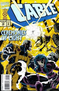 Cover for Cable (Marvel, 1993 series) #15 [Direct Edition]