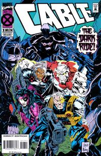 Cover Thumbnail for Cable (Marvel, 1993 series) #17 [Deluxe Direct Edition]