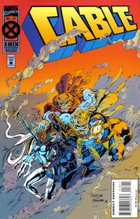 Cover Thumbnail for Cable (Marvel, 1993 series) #18 [Deluxe Direct Edition]