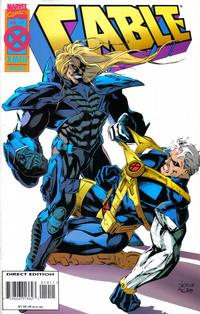 Cover Thumbnail for Cable (Marvel, 1993 series) #19 [Deluxe Direct Edition]