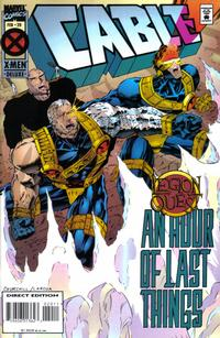Cover Thumbnail for Cable (Marvel, 1993 series) #20 [Deluxe Direct Edition]