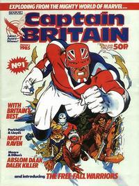Cover Thumbnail for Captain Britain (Marvel UK, 1985 series) #1