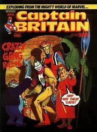 Cover Thumbnail for Captain Britain (Marvel UK, 1985 series) #2
