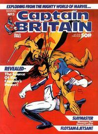 Cover Thumbnail for Captain Britain (Marvel UK, 1985 series) #3