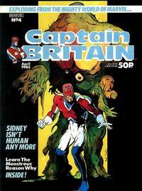 Cover Thumbnail for Captain Britain (Marvel UK, 1985 series) #4