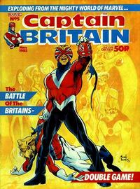 Cover Thumbnail for Captain Britain (Marvel UK, 1985 series) #5