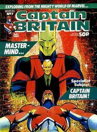 Cover Thumbnail for Captain Britain (Marvel UK, 1985 series) #7