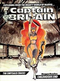 Cover Thumbnail for Captain Britain (Marvel UK, 1985 series) #8