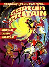 Cover Thumbnail for Captain Britain (Marvel UK, 1985 series) #9