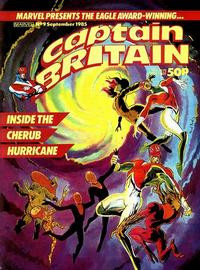 Cover for Captain Britain (Marvel UK, 1985 series) #9