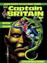 Cover Thumbnail for Captain Britain (Marvel UK, 1985 series) #10