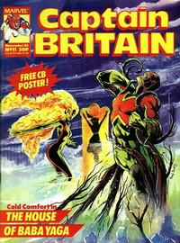 Cover Thumbnail for Captain Britain (Marvel UK, 1985 series) #11