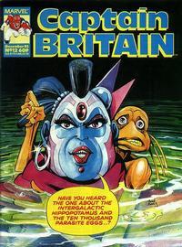Cover Thumbnail for Captain Britain (Marvel UK, 1985 series) #12