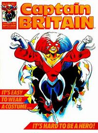 Cover Thumbnail for Captain Britain (Marvel UK, 1985 series) #13