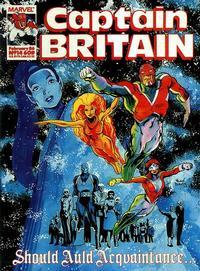 Cover Thumbnail for Captain Britain (Marvel UK, 1985 series) #14
