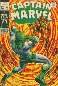 Cover Thumbnail for Captain Marvel (Marvel, 1968 series) #10