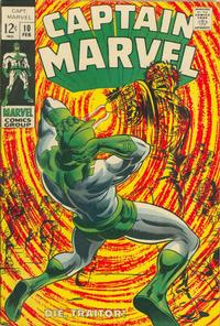 Cover Thumbnail for Captain Marvel (Marvel, 1968 series) #10