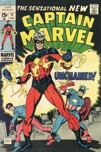 Cover Thumbnail for Captain Marvel (Marvel, 1968 series) #17
