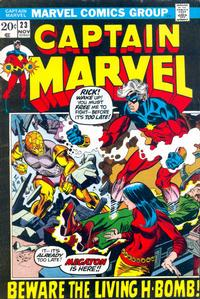 Cover Thumbnail for Captain Marvel (Marvel, 1968 series) #23